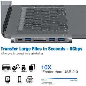 3 USB 3.0 Port