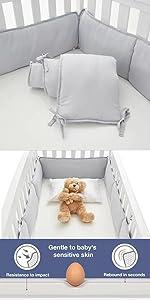 crib bumper pads