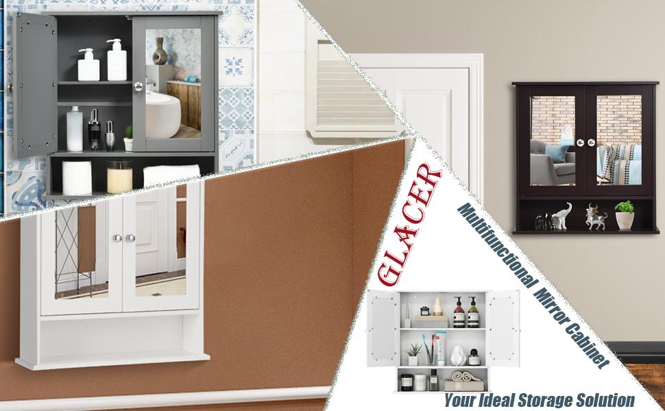 multifunctional wall cabinet