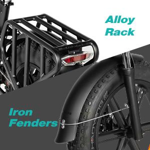 Alloy Rack & Iron Fenders