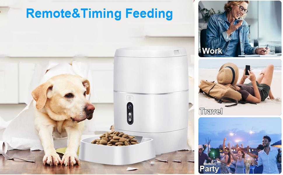 Remote timing feeding