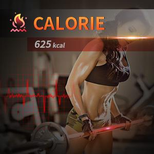 Calorie burning mode