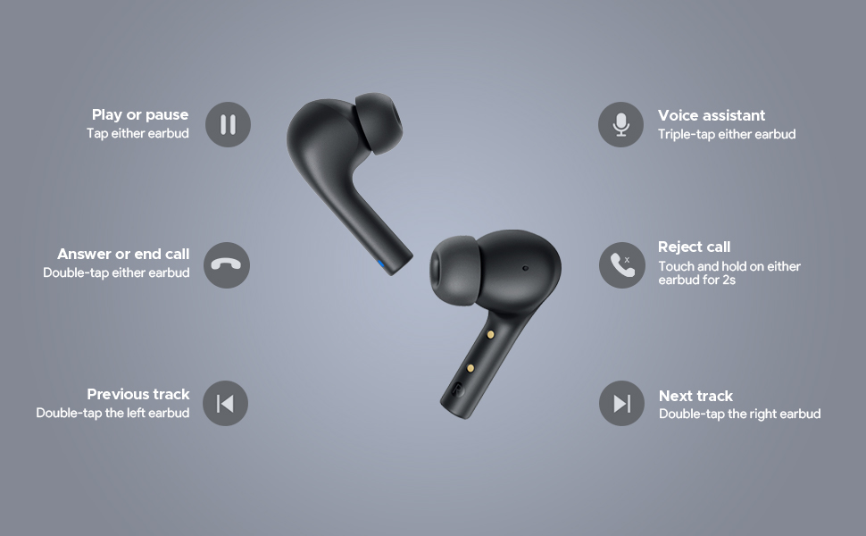 Headphones with Noise Cancelling Mics 9