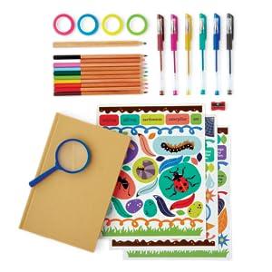 craft kit art materials supply supplies paint pens tape journal write notebook paper