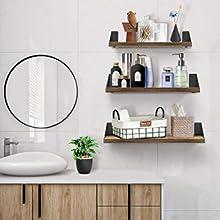 mensola a muro per bagno