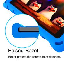 fire hd 8 screen protector Eaised Bezel