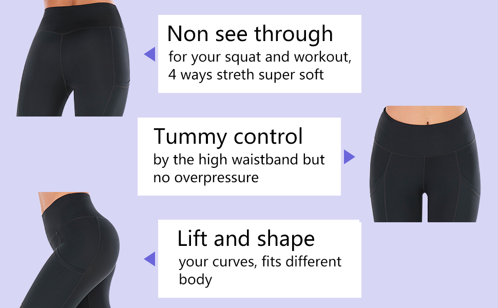 Yoga pants details
