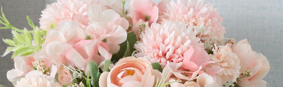 Nubry Artificial Flowers Arrangements