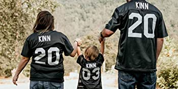 Football Fan Jerseys for the Entire Family from Toddler to Triple X