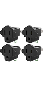 3 to 2 prong adapter