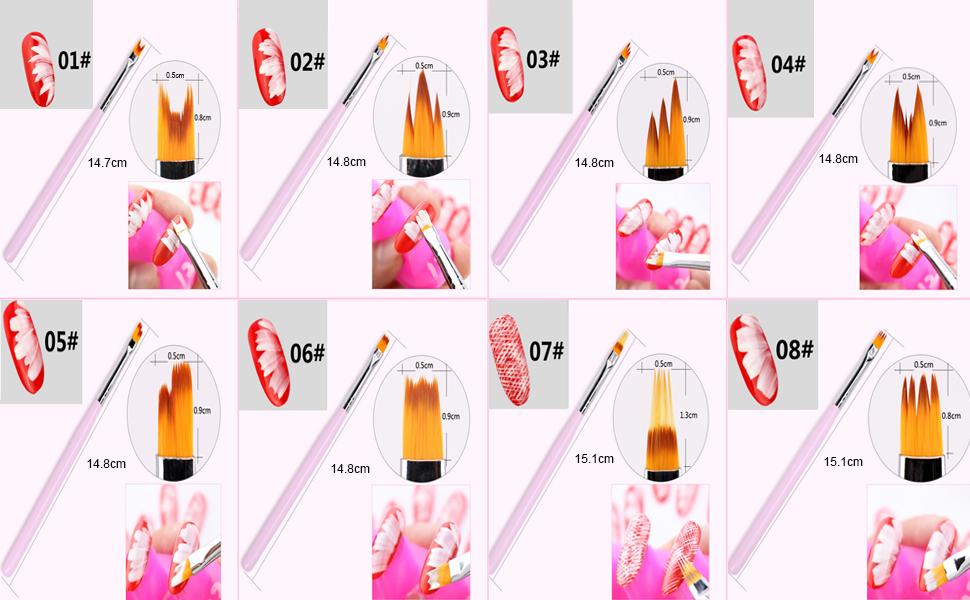 nail pens for nail art