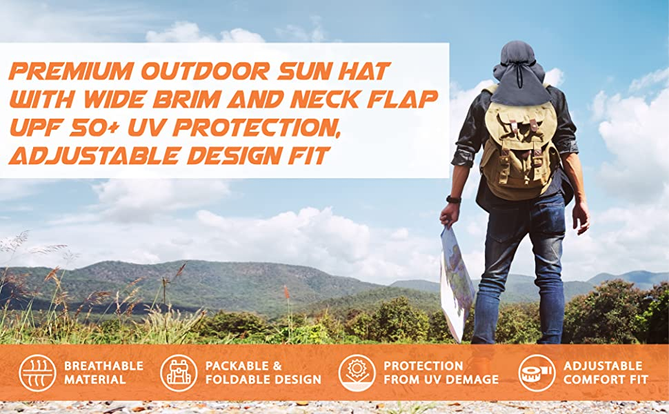 outdoor hat with uv protection