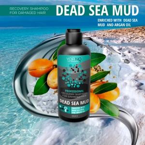 yofing professional shampoo, yofing mud shampoo, yofing dead sea mud, shampoo for damaged hair