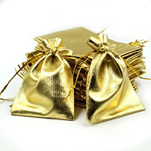 gold organza bags 3