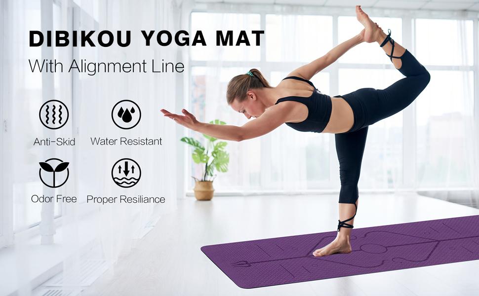 Dibikou yoga mat