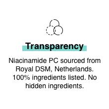 Niacinamide 5% barrier repair soothing oil balancing clear clean skin hydrating dry oily sensitive