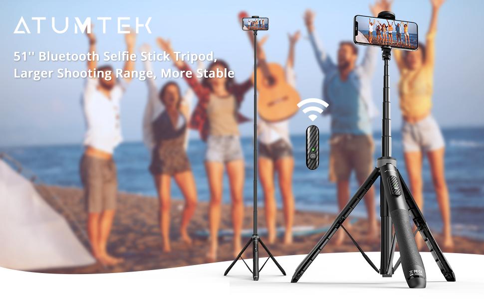 Bluetooth Selfie Stick Stativ