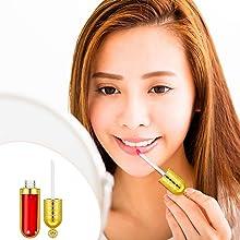 15 Pieces Empty Plastic Lip Gloss Tube