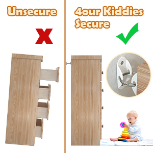 furniture anchor for baby proofing baby safety