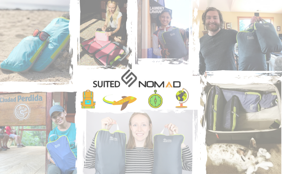 suited nomad suitednomad travel gear rei traveling accessories packing cubes luggage organizer carry