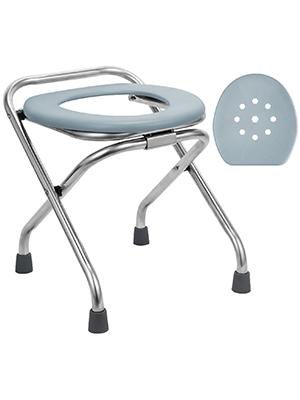 Folding Commode Portable Toilet Seat