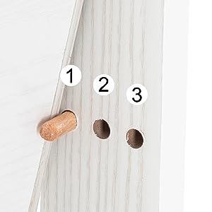 A+ - 2-4 - Bonnlo jewelry cabinet organizer