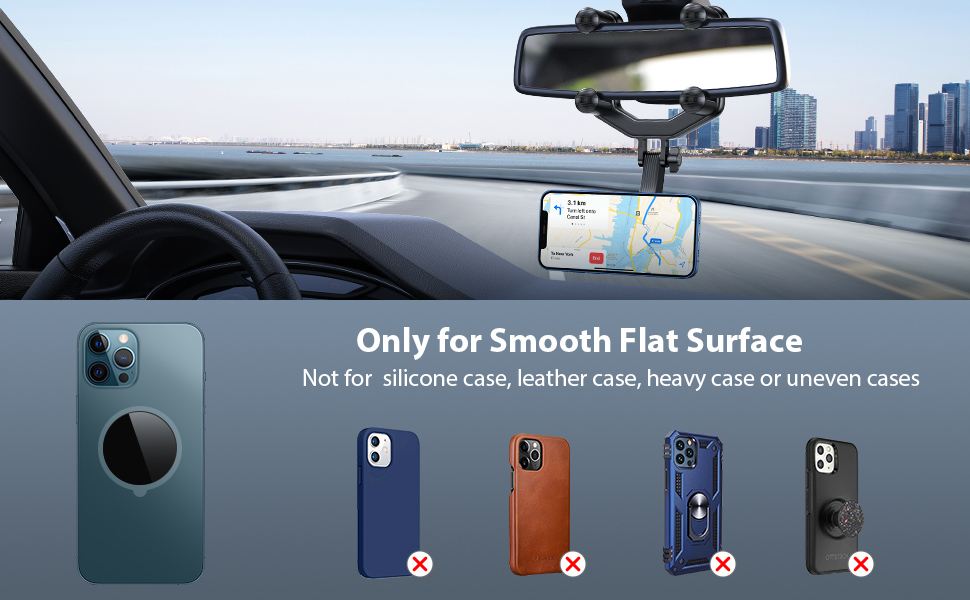 magnetic cell phone holder for car