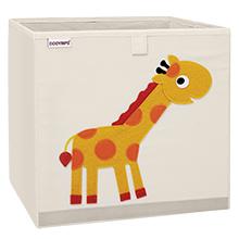 Animal cube storage bins