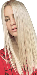 bleached blonde