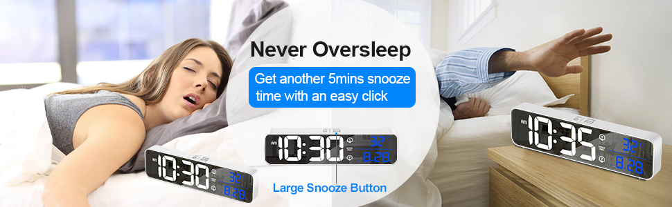 digital alarm clocks