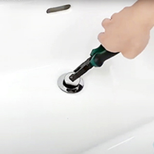 pop up basin drain