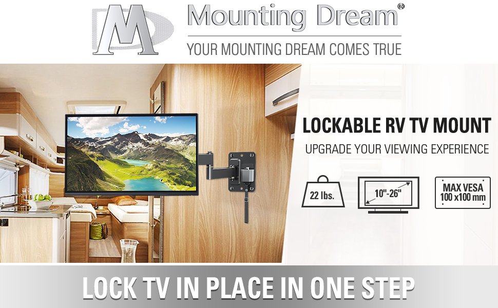 tv wall mount tv mount rv tv wall mount rv tv mount mount Full Motion Lockable RV TV Wall Mount 1