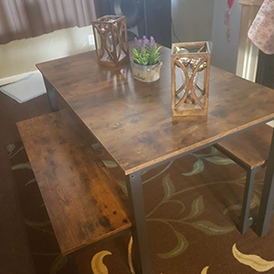 BREAKFAST NOOK TABLE SET