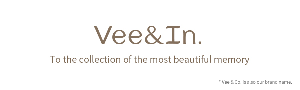 Logo and slogan of Vee&In.