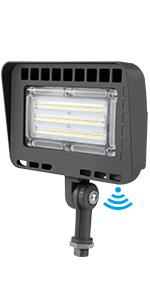 LED Flood Light with Photocell