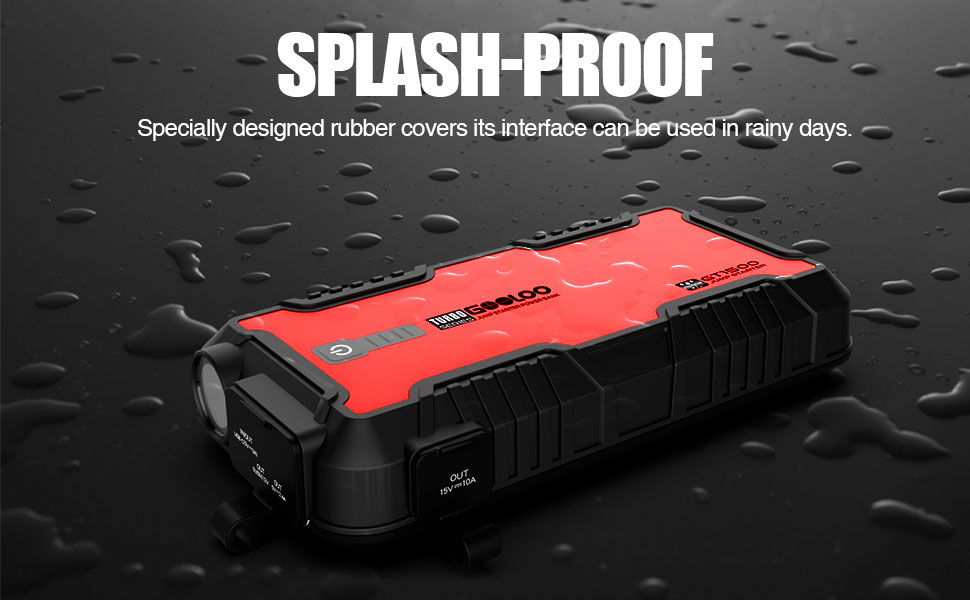 waterproof jump starter battery pack