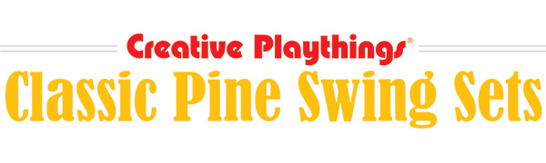 Classic Pine Swing Sets