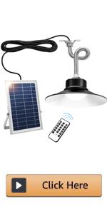 solar chicken coop light