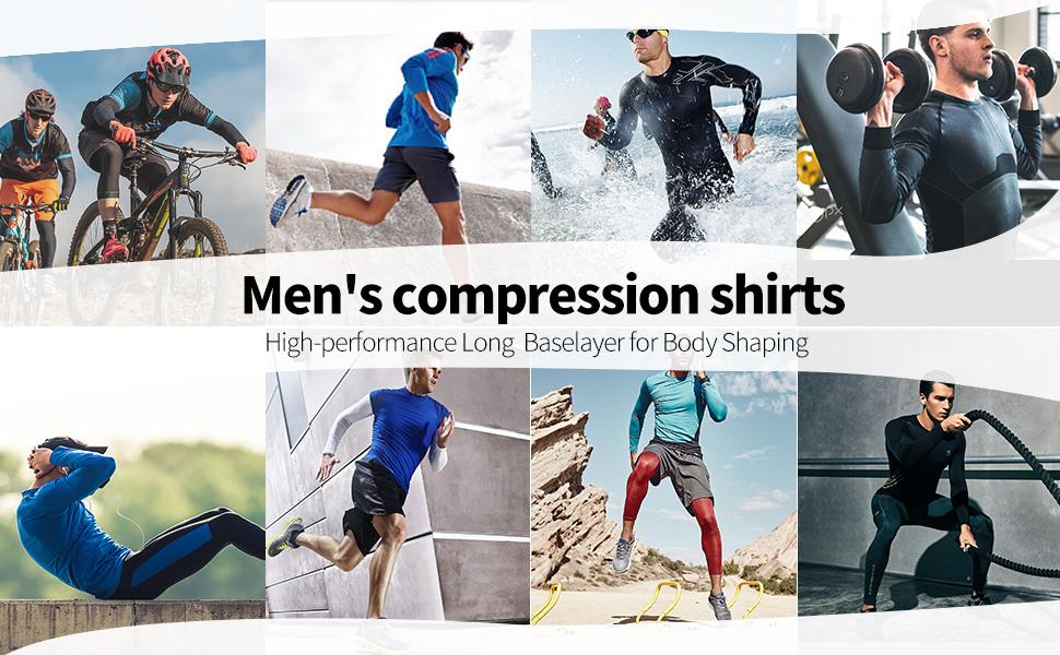 t shirt for men compression