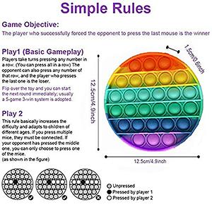 Pop fidget it game rainbow