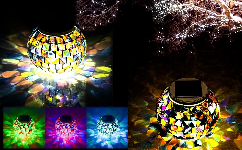 solar table lights