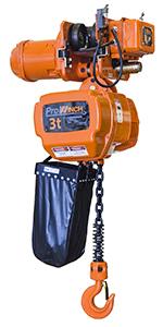 2 Speed 2 ton Electric Chain Hoist 20 ft G100 Chain M4//H3 230//460V Wireless