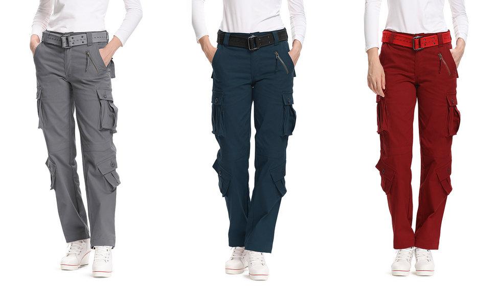 cargo pants for women,black cargo pants for women, pants for women, red cargo pants