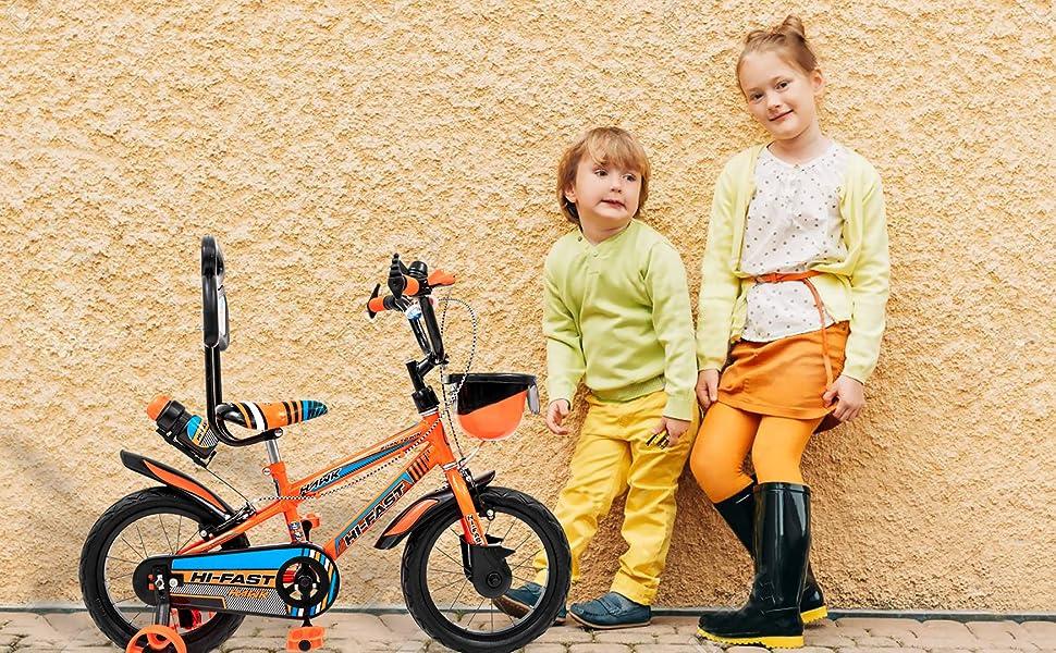 ORANGE KIDS CYCLES