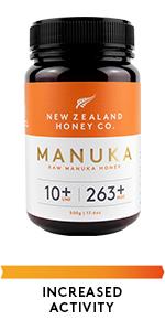 Raw Manuka Honey UMF 10+ (MGO 263+)