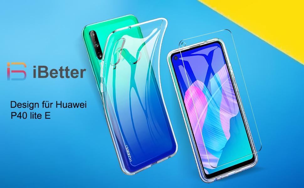 Ibetter Case For Huawei P40 Lite E Soft Tpu Ultra Thin Elektronik