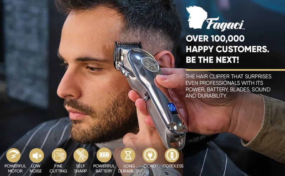 hair clippers fagaci