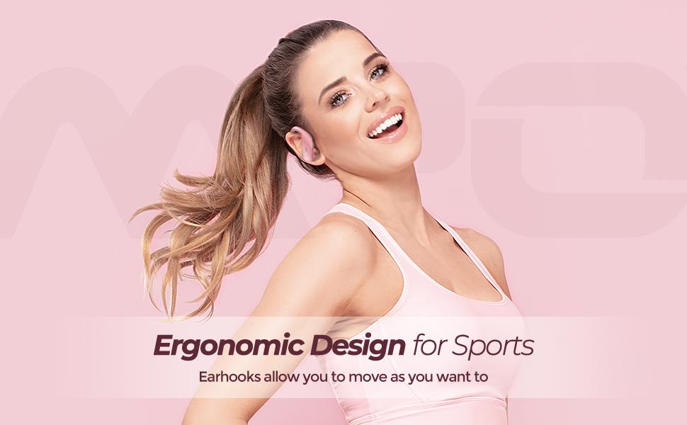 wireless earbuds bluetooth earphones in ear running headphones sports bluetooth wireless headphones