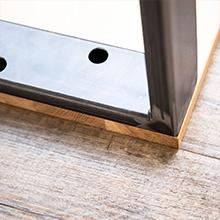 Montage tafelpoten van Holzbrink - stap 2