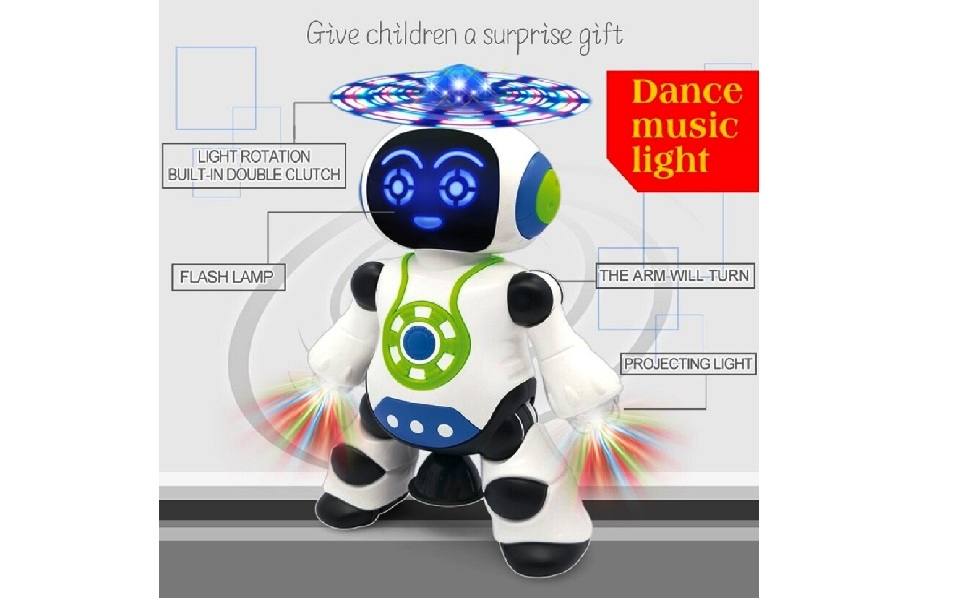 Robot for kids, toys for kids boys, dance toys for kids, robot toys for children, transformer toys